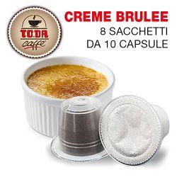 Picture of 80 capsule Creme Brulee Gattopardo compatibile Nespresso Toda