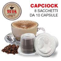 80 capsule Capciock Gattopardo compatibile Nespresso Toda