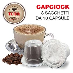 Picture of 80 capsule Capciock Gattopardo compatibile Nespresso Toda