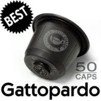 50 capsule Caffè Best Gattopardo compatibile Nespresso