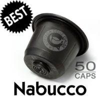 50 capsule Caffè Best Nabucco compatibile Nespresso