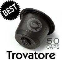 50 capsule Caffè Best Trovatore compatibile Nespresso