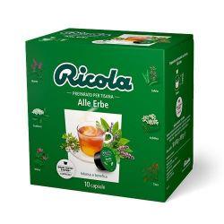 Picture of 60 Capsule tisana Ricola Alle Erbe compatibili Nescafé Dolce Gusto