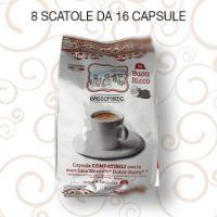 128 Capsule caffè Toda BUON RICCO compatibili Dolce Gusto