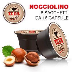 Picture of 128 Capsule NOCCIOLINO Toda Dolce Gattopardo compatibili Dolce Gusto