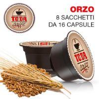 128 Capsule Caffè d'ORZO Toda Dolce Gattopardo compatibili Dolce Gusto