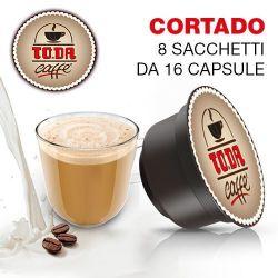 Picture of 128 Capsule Buon CORTADO Toda compatibili Dolce Gusto