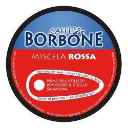 Picture of 90 Capsule Caffè Borbone Miscela ROSSA Compatibili Nescafè Dolce Gusto
