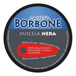 Picture of 90 Capsule Caffè Borbone Miscela NERA Compatibili Nescafè Dolce Gusto