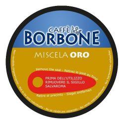 Picture of 90 Capsule Caffè Borbone Miscela ORO Compatibili Nescafè Dolce Gusto