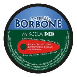 Picture of 90 Capsule Caffè Borbone Miscela DEK Compatibili Nescafè Dolce Gusto