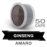 50 capsule bevanda solubile al gusto di caffè al GINSENG AMARO Compatibili Lavazza POINT