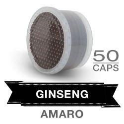Picture of 50 capsule bevanda solubile al gusto di caffè al GINSENG AMARO Compatibili Lavazza POINT