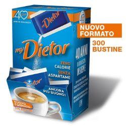 Picture of Dietor, nuovo formato da 300 bustine di dolcificante ipocalorico