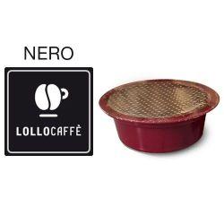Picture of 100 Cialde caffè Lollo miscela Nera Monodose compatibile Lavazza A Modo Mio