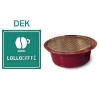 100 Cialde caffè Lollo miscela DEK Monodose compatibile Lavazza A Modo Mio