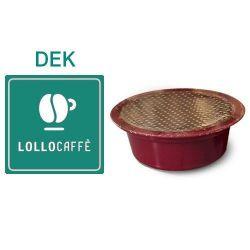 Picture of 100 Cialde caffè Lollo miscela DEK Monodose compatibile Lavazza A Modo Mio