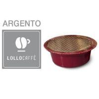 100 Cialde caffè Lollo miscela Argento Monodose compatibile Lavazza A Modo Mio