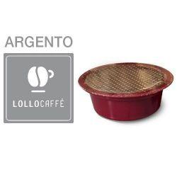 Picture of 100 Cialde caffè Lollo miscela Argento Monodose compatibile Lavazza A Modo Mio