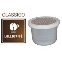 100 Capsule caffè Lollo PassionePiù miscela Classico compatibile Uno System