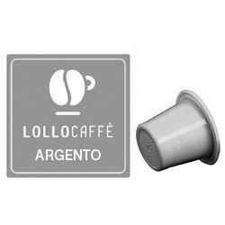 Picture of 100 Cialde caffè Lollo miscela Argento compatibile Nespresso
