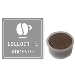 Picture of 100 Cialde caffè Lollo miscela Argento Monodose compatibile Espresso Point