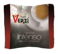 100 Capsule caffè Verzì miscela Intenso Monodose compatibile Espresso Point