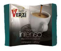 80 Capsule caffè Verzì miscela Intenso Monodose compatibile Caffitaly