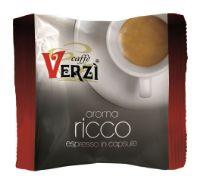 100 Capsule caffè Verzì miscela Ricco Monodose compatibile Espresso Point