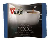 80 Capsule caffè Verzì miscela Ricco Monodose compatibile Firma