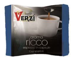 Picture of 80 Capsule caffè Verzì miscela Ricco Monodose compatibile Firma