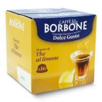 16 Capsule Borbone Compatibili macchine Nescafè Dolce Gusto AL GUSTO DI THE AL LIMONE