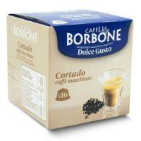 16 Capsule Borbone Compatibili macchine Nescafè Dolce Gusto CORTADO - CAFFE' MACCHIATO