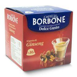 Picture of 16 Capsule Borbone Compatibili macchine Nescafè Dolce Gusto CAFFE AL GUSTO DI GINSENG