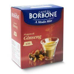 Picture of 16 Capsule Borbone Compatibili macchine Lavazza A Modo Mio CAFFE' AL GUSTO DI GINSENG