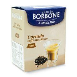 Picture of 16 Capsule Borbone Compatibili macchine Lavazza A Modo Mio CORTADO - CAFFE' MACCHIATO