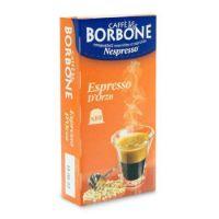 10 Capsule Borbone Compatibili macchine domestiche Nespresso ESPRESSO D'ORZO