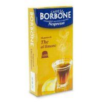 10 Capsule Borbone Compatibili macchine domestiche Nespresso AL GUSTO DI THE AL LIMONE