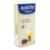 10 Capsule Borbone Compatibili macchine domestiche Nespresso CORTADO - CAFFE' MACCHIATO