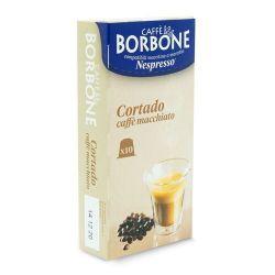 Picture of 10 Capsule Borbone Compatibili macchine domestiche Nespresso CORTADO - CAFFE' MACCHIATO