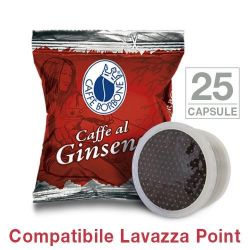 Picture of 25 Capsule caffè Borbone al GINSENG Monodose compatibile Espresso Point