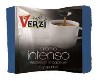 80 Capsule caffè Verzì miscela Intenso Monodose compatibile Lavazza Blue