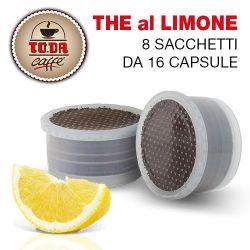 Picture of 128 Capsule TE' al LIMONE Toda Caffè Gattopardo compatibili Espresso Point
