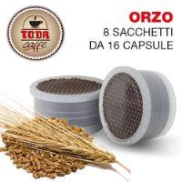 128 Capsule caffè d'ORZO Toda Gattopardo compatibili Espresso Point