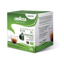 Picture of 16 Capsule Espresso BIO caffè Lavazza compatibili Nescafé Dolce Gusto