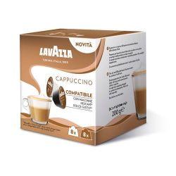 Picture of 16 Capsule Espresso CAPPUCCINO Lavazza compatibili Nescafé Dolce Gusto