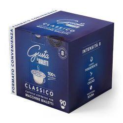 Picture of 90 Capsule caffè GUSTA CLASSICO originali Bialetti  in alluminio