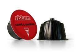 Picture of 112 capsule Caffè e Ginseng Ristora compatibile Nescafé  Dolce Gusto
