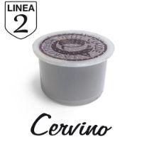 50 capsule Caffè Cervino Linea 2 compatibile Aroma Vero