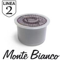 50 capsule Caffè Monte Bianco Linea 2 compatibile Aroma Vero